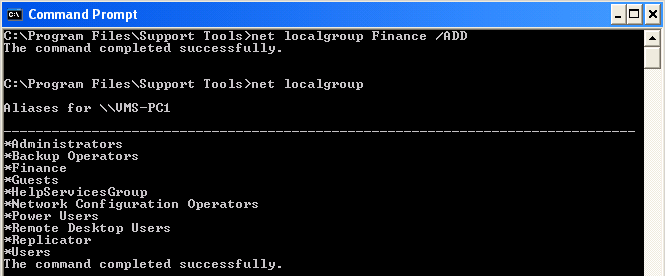Step 5 List the Users Belonging to a Particular Group