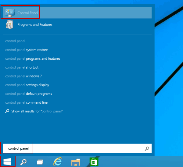 Step 1 to Enable the Remote Registry Service is to open control panel