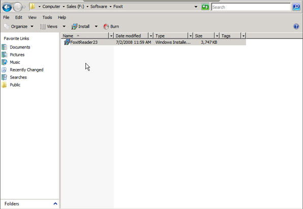 Step 7 to auto install exe file with GPO is to paste the .msi file