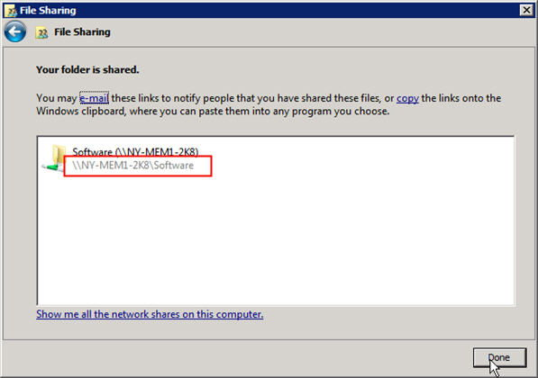 Step 5 to auto install exe file with GPO is to remember the location of this shared folder