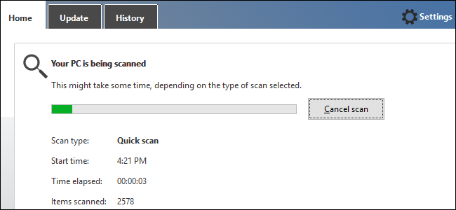 Step 8 to fix trouble when Microsoft Windows Updates not working Is to Scan Your Pc for Malware