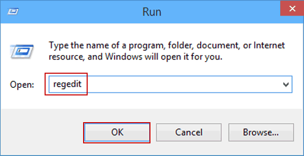 Step 1 to Deploy Registry Changes Remotely is to Open Registry Editor