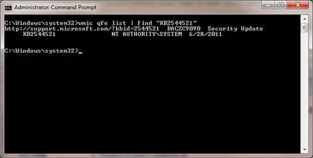 Step 2 to Manage Windows Updates Remotely is to Create a Text File with the Output