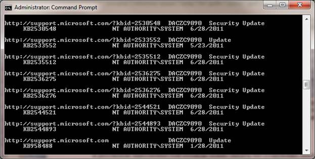 Step 1 to Manage Windows Updates Remotely is to Open a Command Prompt and Type Command