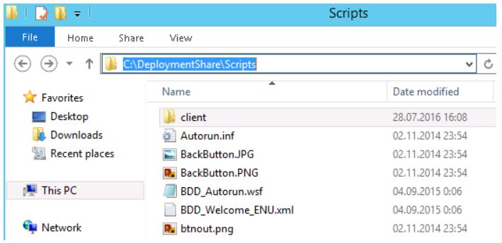 Folder with updates
