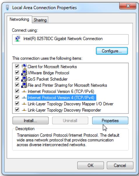 Step 17 Select Internet Protocol Version 4 Properties