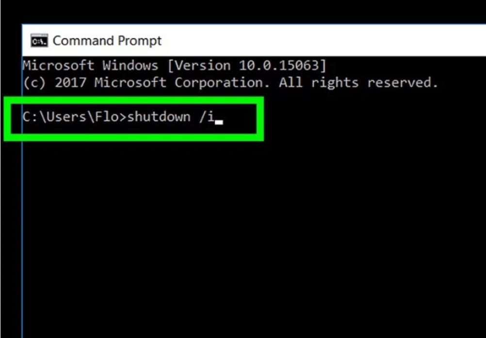 shut down windows computer remotely action1 rmm