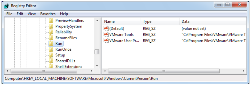 First step to Remove Startup Program is to move to HKEY_LOCAL_MACHINE Software Microsoft Windows CurrentVersion Run