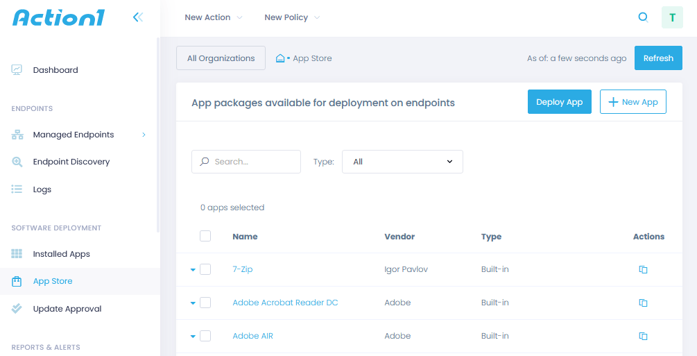 Adding new package to App Store