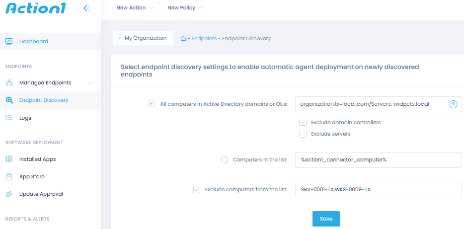 Endpoint Discovery
