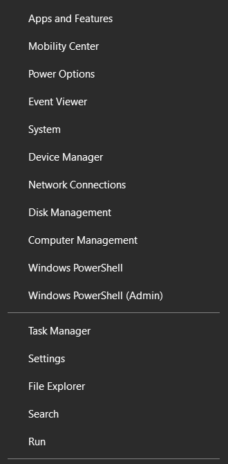 Uninstall programs. Start apps and features