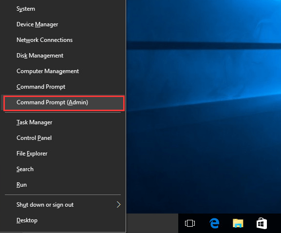 Step 1 to enable Built-in Administrator Account is to Run the command prompt on behalf of the Administrator