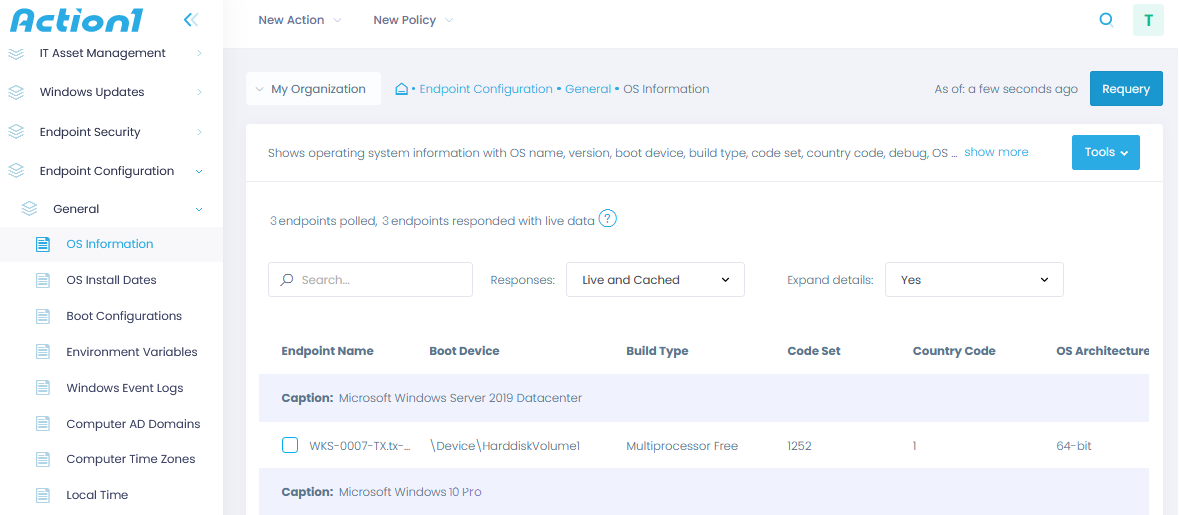 endpoint security configuration action1 rmm